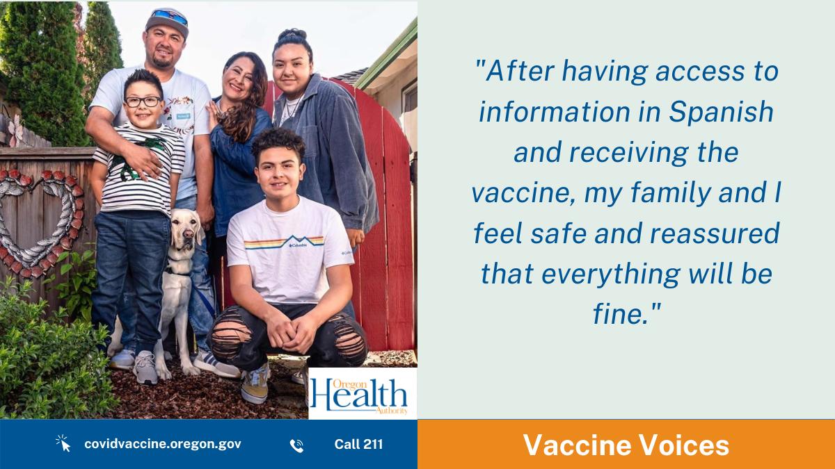 Vaccine Voices: Rosa Ochoa