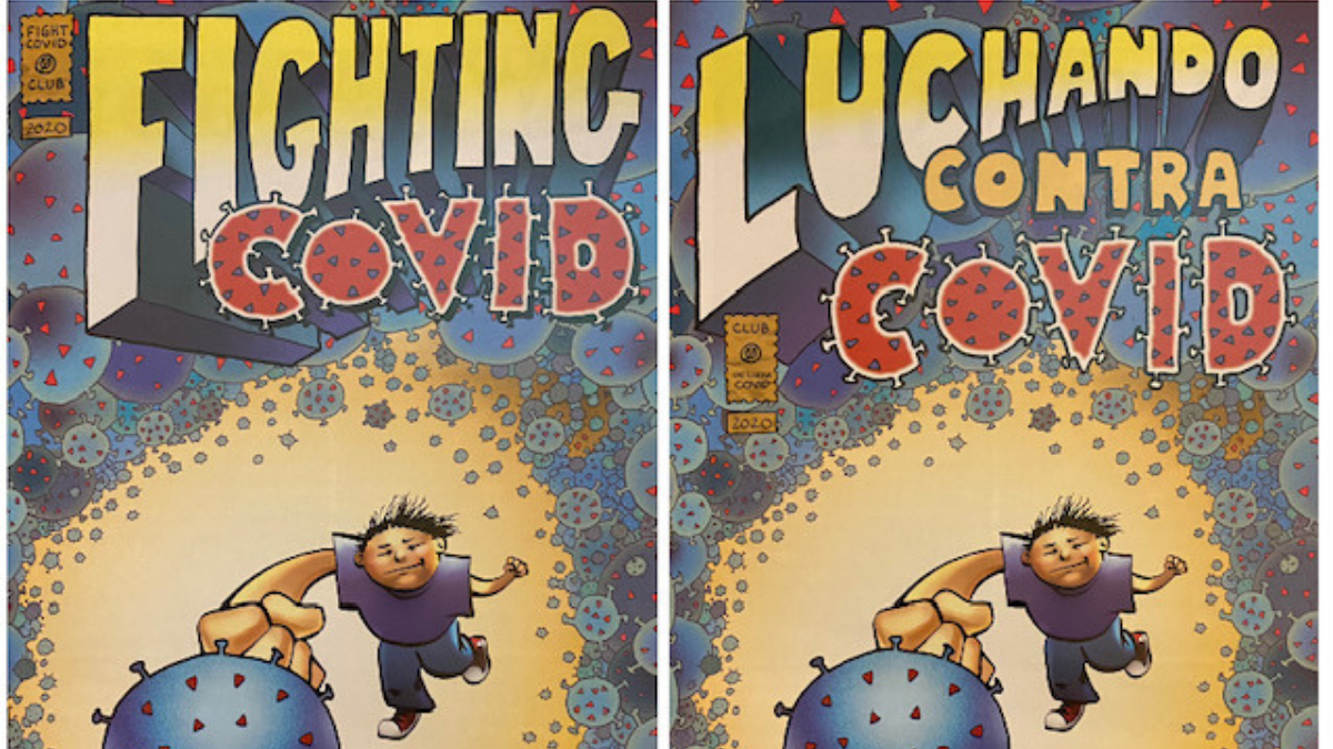 NW Disability Support fights COVID-19 with a comic book