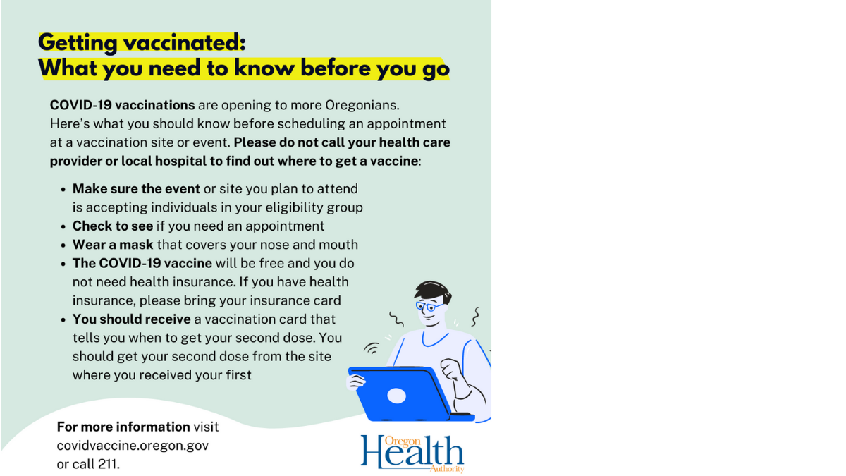 Getting your vaccine: What to know before you go