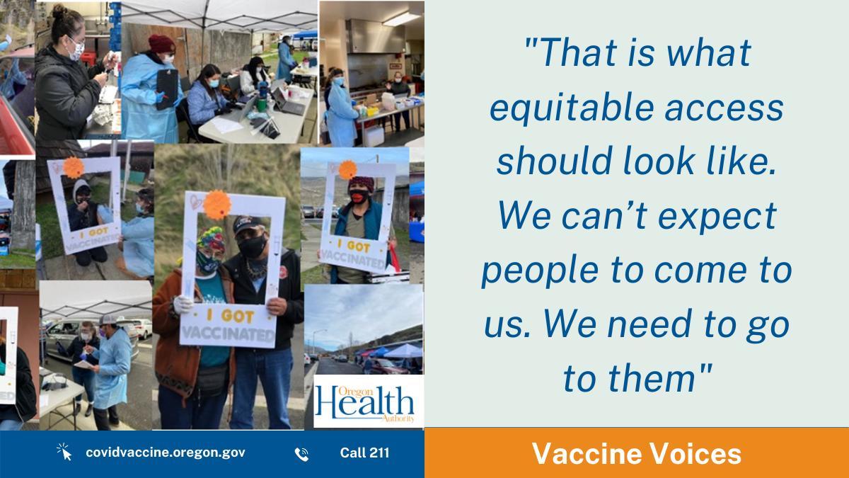Vaccine Voices: Promoting equitable access at Celilo Village