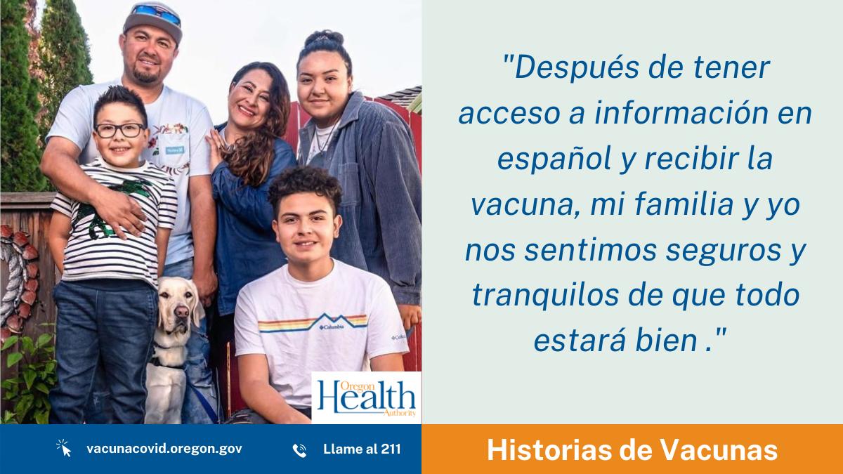 Historias de Vacunas: Rosa Ochoa