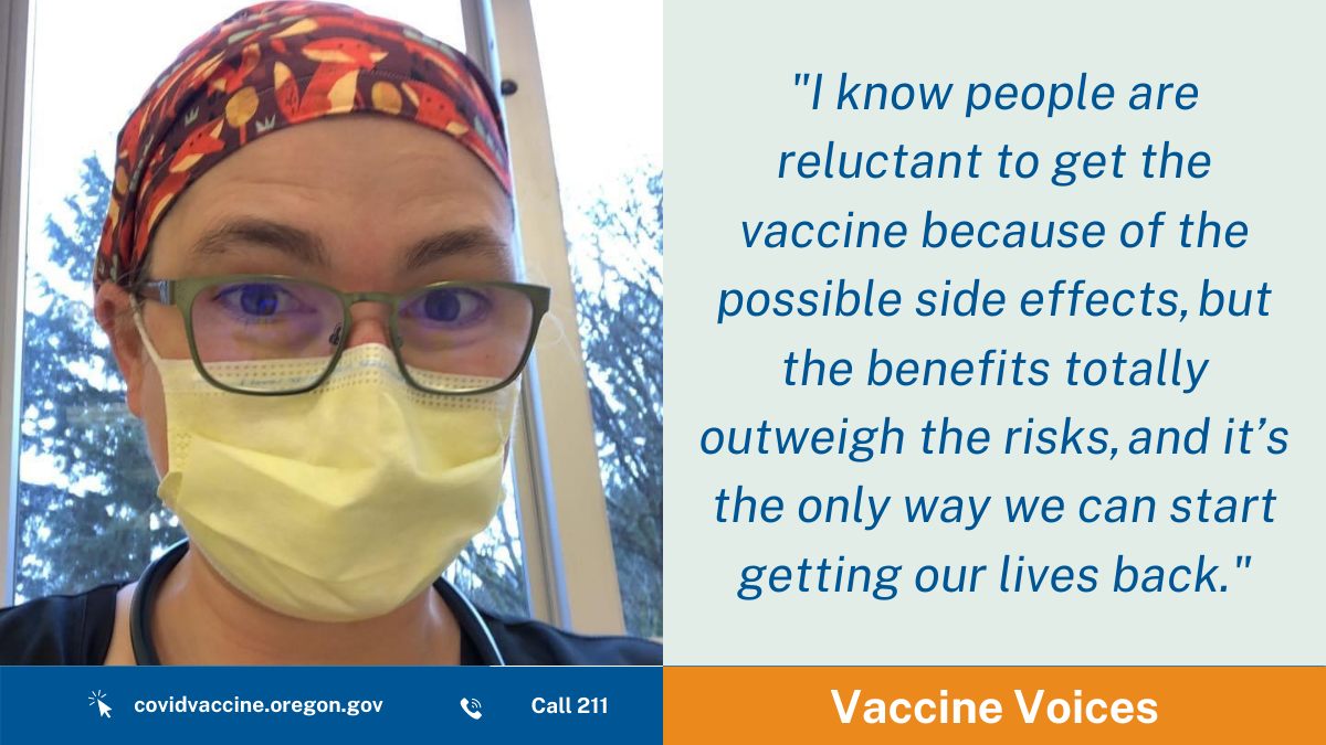Vaccine Voices: 'An extra layer of protection'