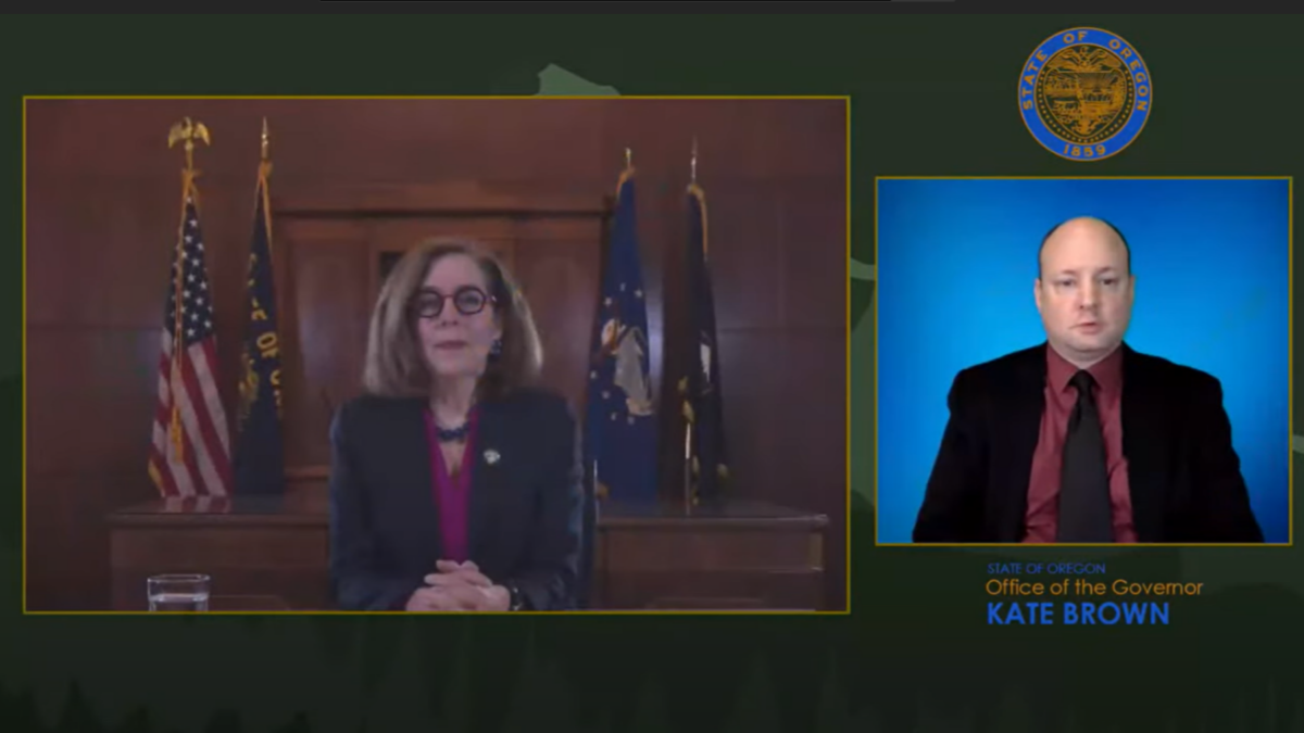 Governor Kate Brown announces expanded eligibility