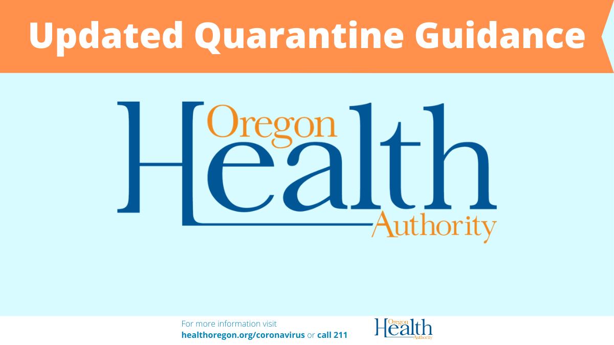 OHA issues revised quarantine guidance