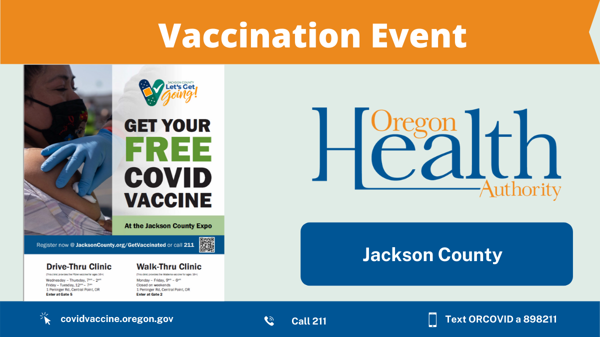 Vaccination made easy in Jackson County