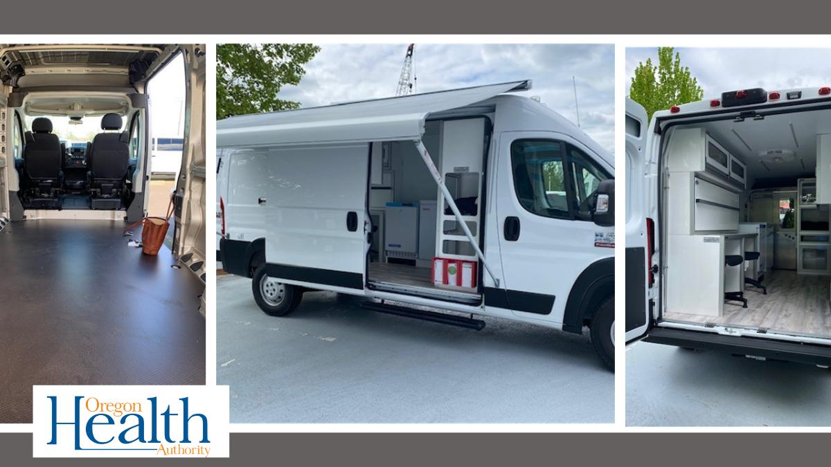 El equipo de OHA encuentra una manera para proveer pruebas y vacunas contra el COVID-19 en la comunidad