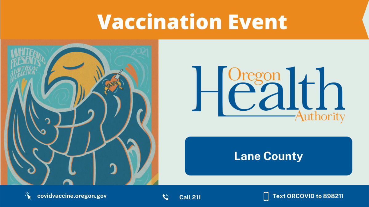White Bird is vaccinating the community in Eugene