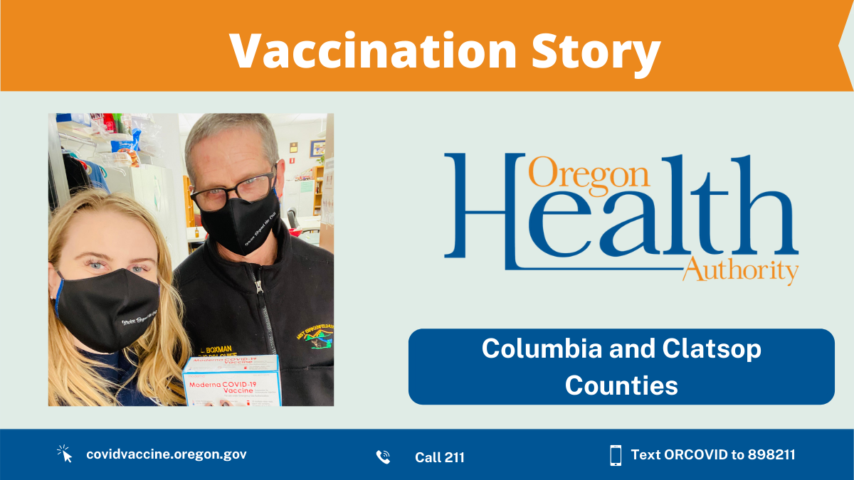 Rural Oregon fire department steps up to provide vaccine so no one gets left behind