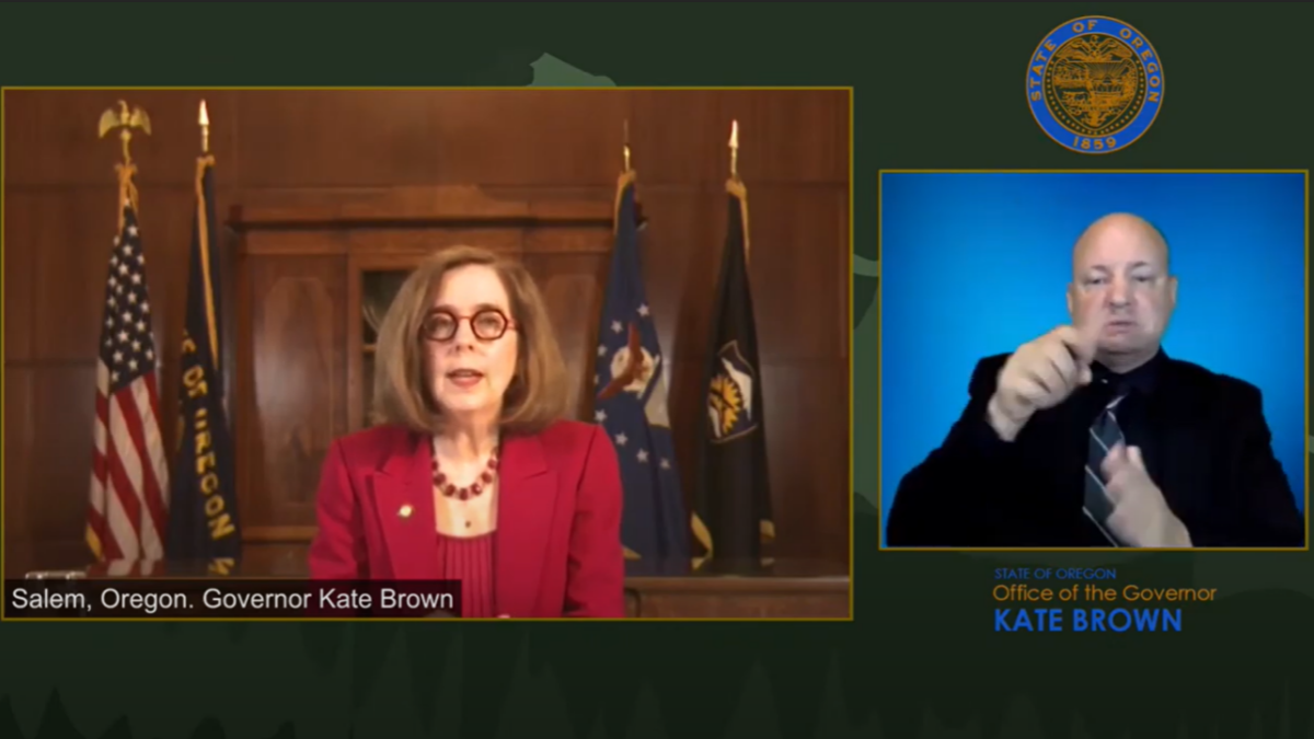 La gobernadora Brown y el liderazgo de OHA hablan sobre la reapertura