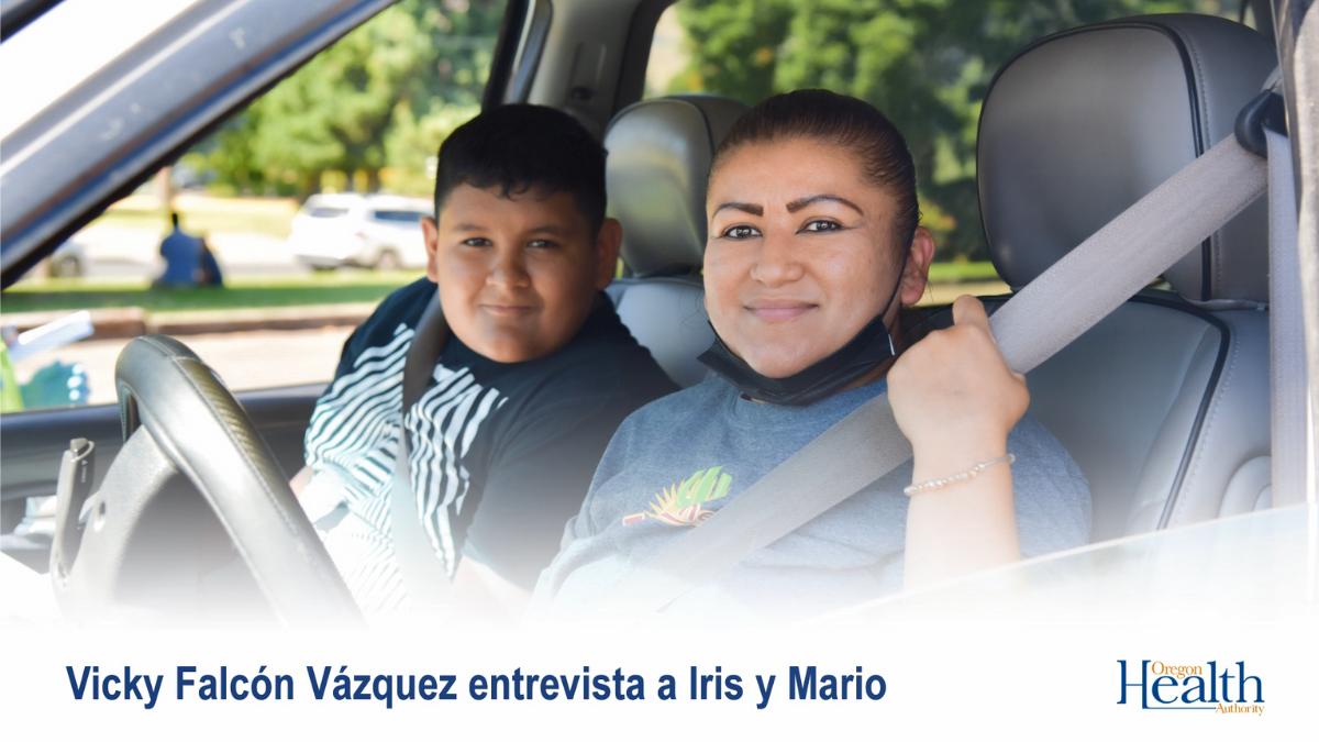 Historias de Vacuna: Mario y Iris