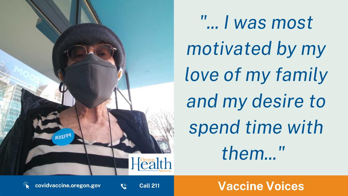 Vaccine Voices: Sandy Polishuk