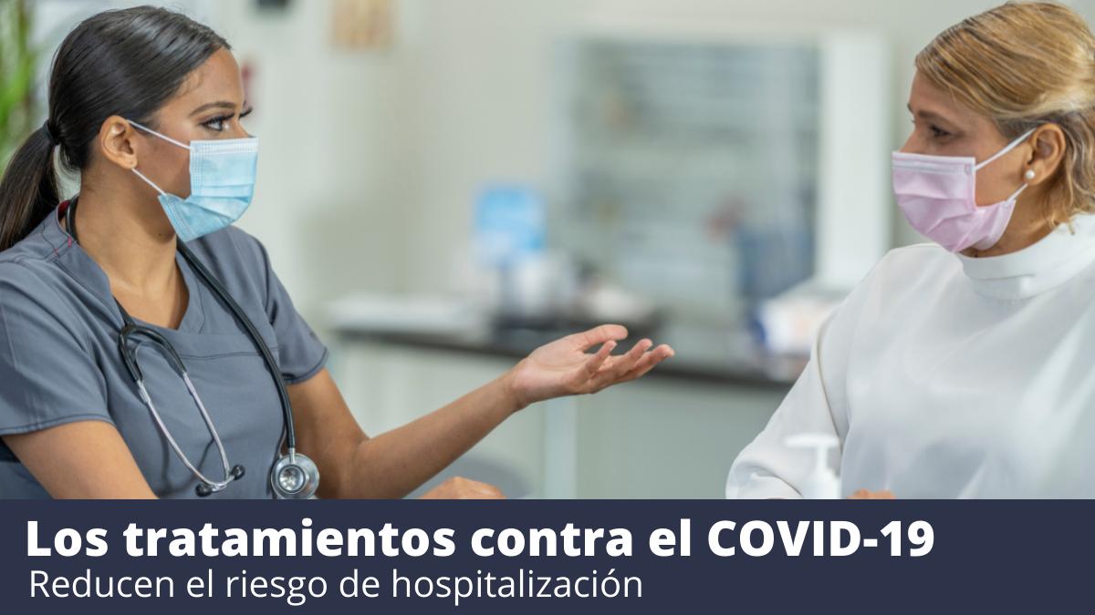 Tratamiento con anticuerpos monoclonales para COVID-19