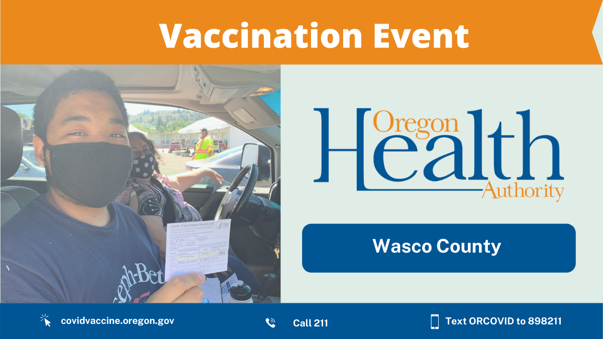 Sixteen-year-old is 1,000th vaccine recipient at Wasco site