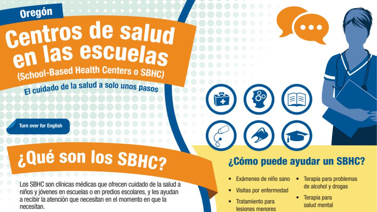 Centros de salud escolares y vacunas