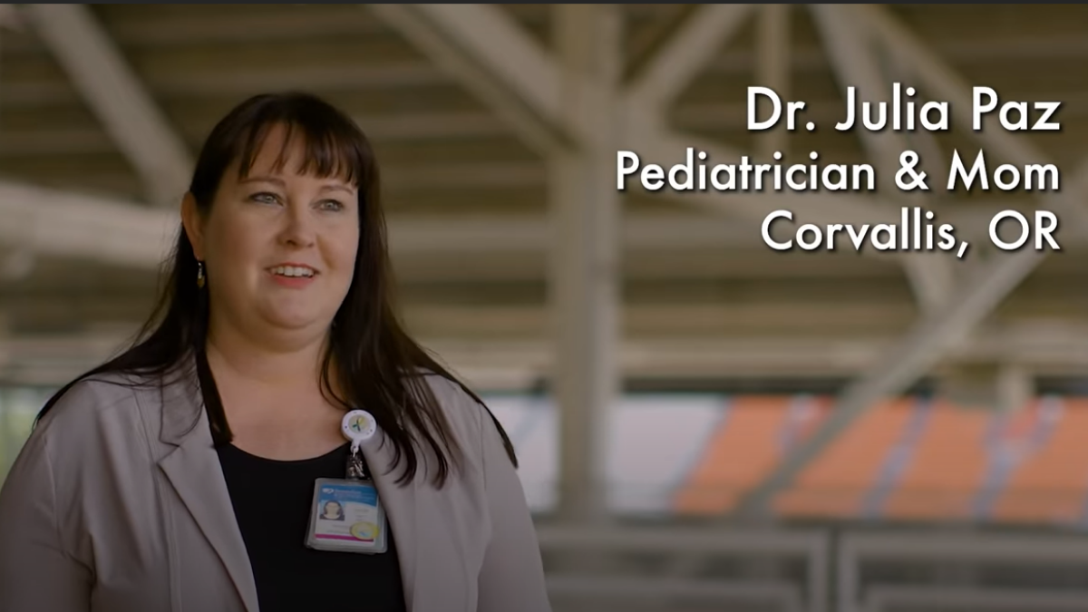 Oregon pediatrician shares her story about deciding to vaccinate her son