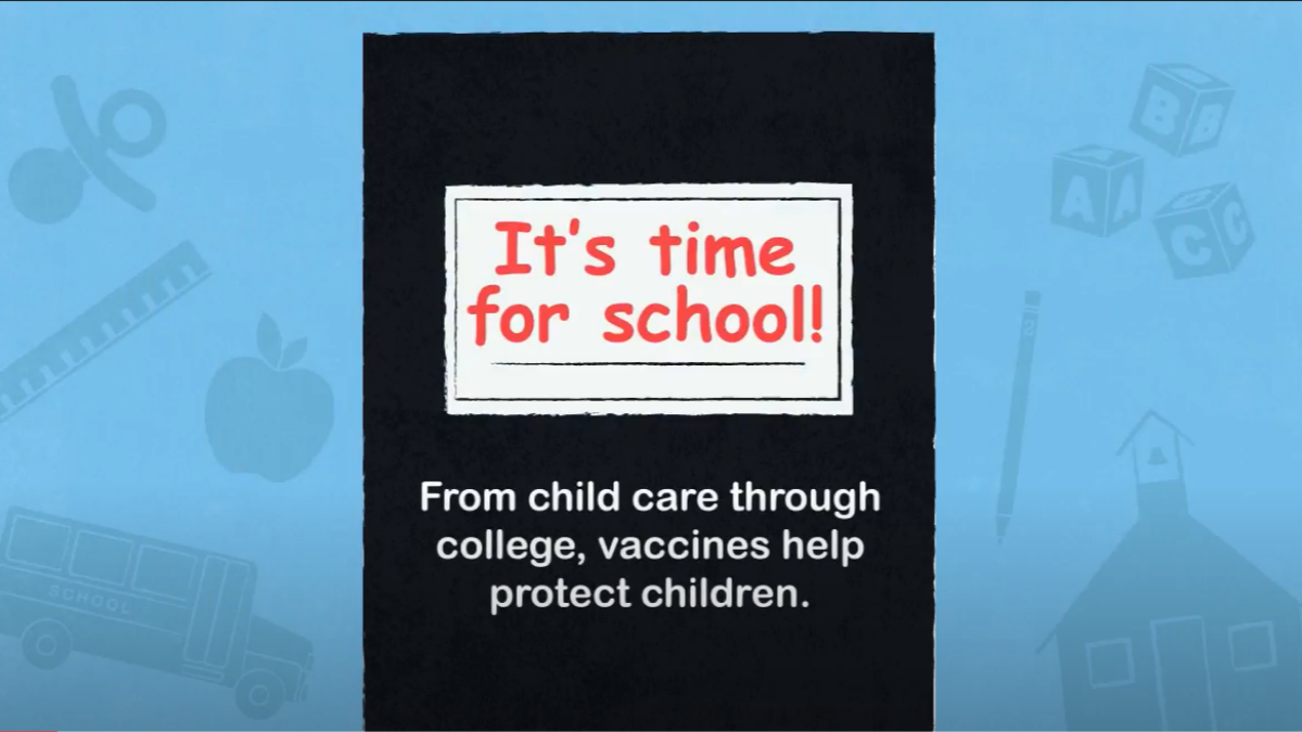 Kids back in school? Make an appointment for routine vaccinations