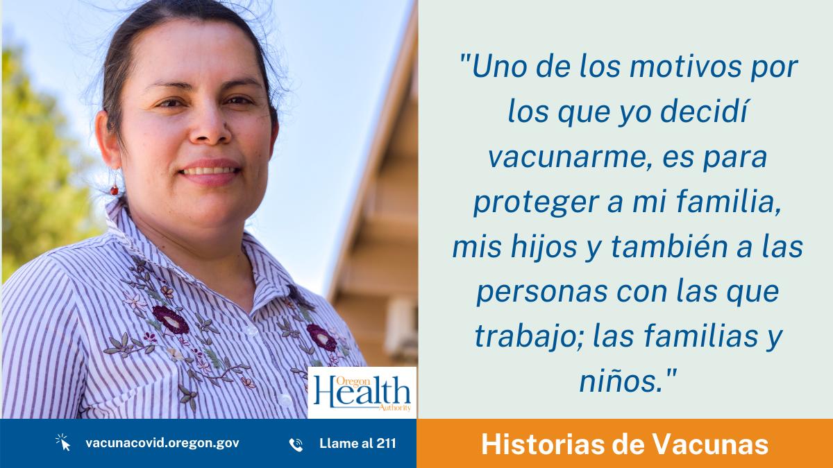 Historias de Vacuna: Lourdes Torres