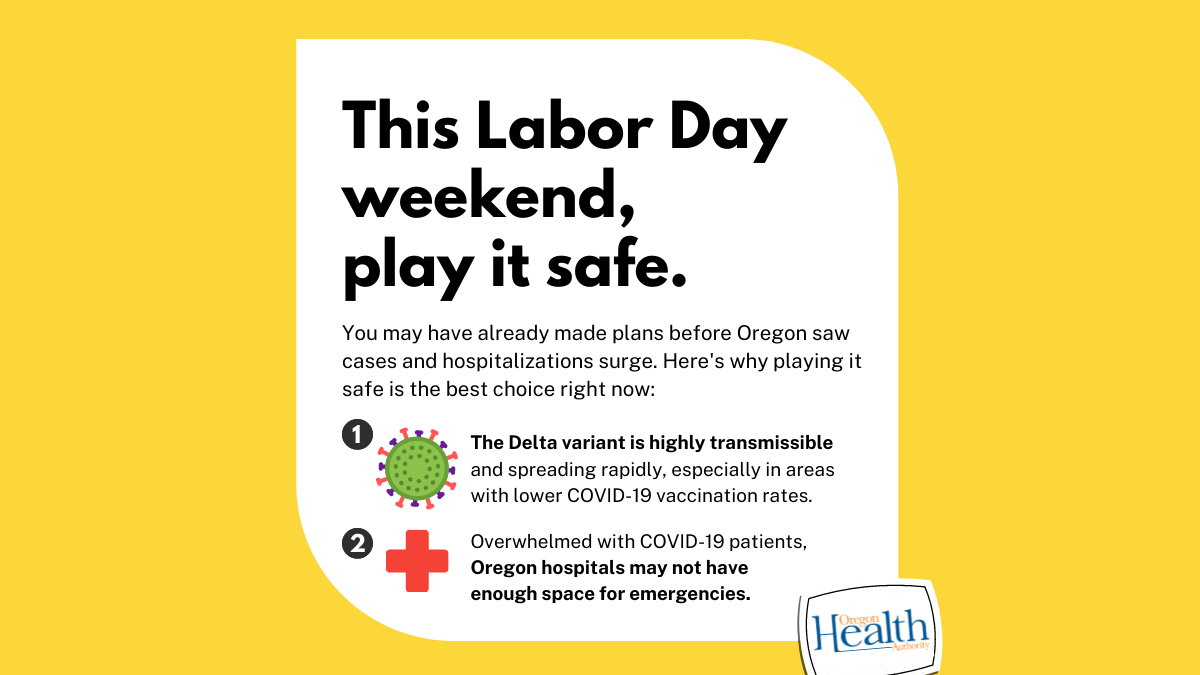 Protect friends andcommunities by staying safe this Labor Day weekend