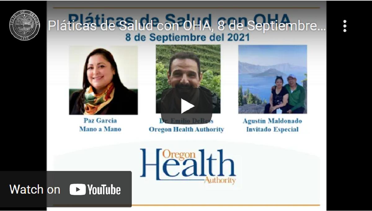 Pláticas de Salud con OHA: Tratamientos con anticuerpos monoclonales y prevención de uso de ivermectina