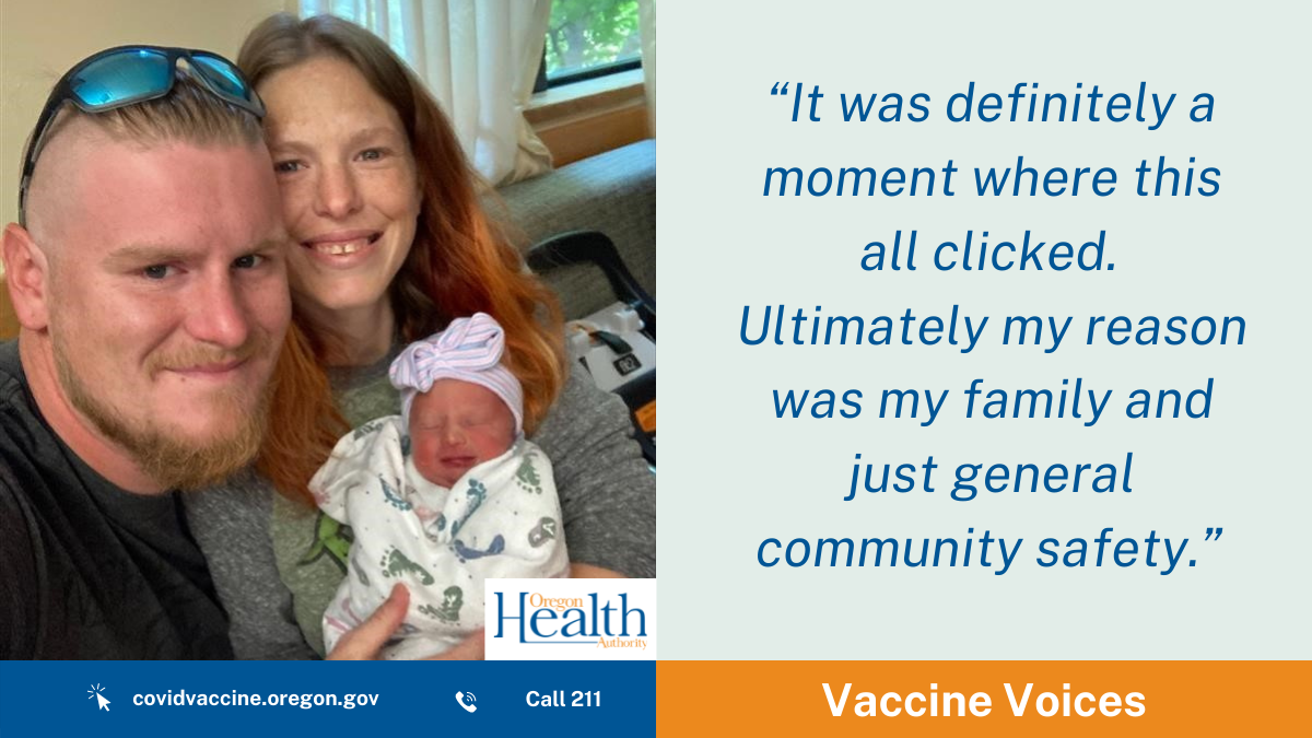 Vaccine Voices-Deschutes County: 'Who would be there to keep my entire world running?'